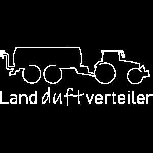 Landdurftverteiler Trecker mit Mistfass Bauer