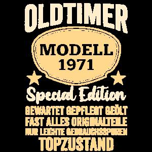 Geburtstag | 50. Geburtstag Oldtimer 1971