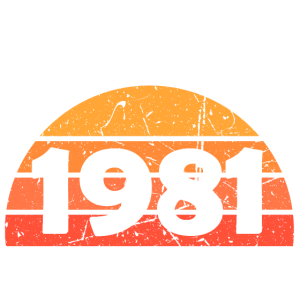 made in 1981 birthday all original parts 40th