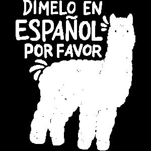 Spanischlehrer Lama