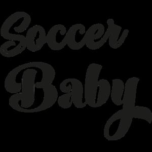 Fußball Baby Papa Fußball zu spielen Fußballer