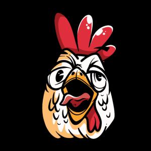 Singender Hahn Hühner Huhn Musik Kikeriki Bauer