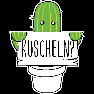 Kuscheln? Kaktus zum Kuscheln Geschenk