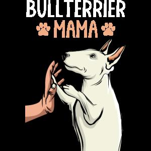 Bullterrier Mama Bull Terrier Hunde Frauchen