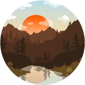 Berglandschaft (Kreis)