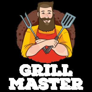 Lustige Grill Meister