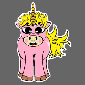 Licorne Unicorn Einhorn (Femelle)