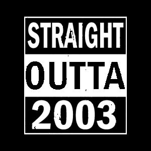18. Geburtstag 2003 Straight Outta Vintage
