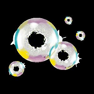 Seifenblase, Soap Bubble, Art, Color, Vintage