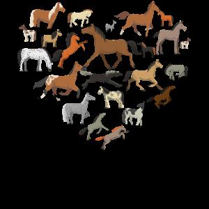 Pferde Mit Liebe, Pferdeliebhaber, Süße Pferde