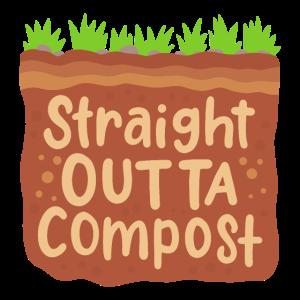 Garten Kompost Geschenk