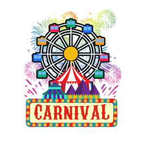 Karneval Party Zirkus Riesenrad Neuheit Souvenir