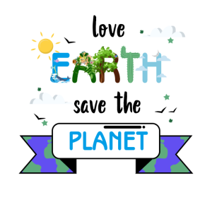 Love Earth Save The Planet