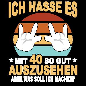 40 Jahre 40 Geburtstag Geschenk 40 Jahre Birthday