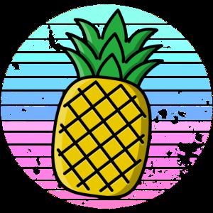 Ananas Sonnenuntergang Tropisch