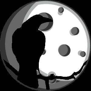 Crow Mond Natur-Liebhaber und Mythische Geschenk