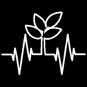 Heartbeat Pflanze Blume Baum Natur Garten Veganer