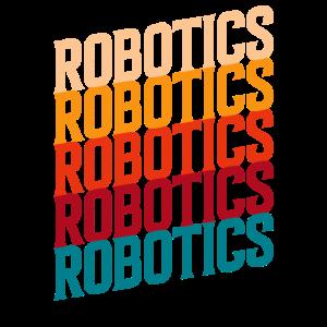 Retro-Robotik für Robotik-Engineering Humanoide
