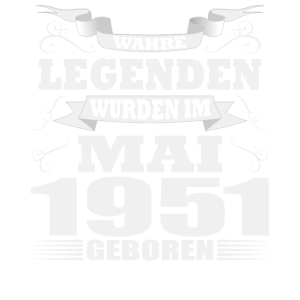 Legenden wurden Mai 1951 geboren Geburtstag