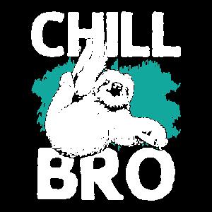 Chill mal Faultier chillen relaxen abhängen