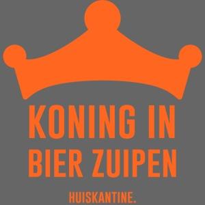 Koning in bier zuipen
