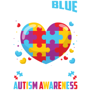 I Wear Blue For My Loving Son Autism Awareness