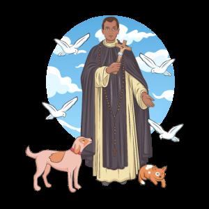 San Martín de Porres, Santo Patrono de Perú.