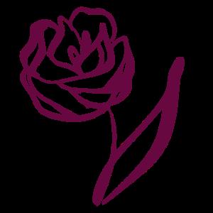 Line Art Rose