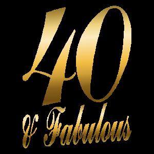40 & Fabulous Geschenk Zum 40. Geburtstag