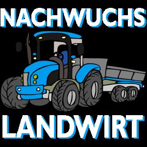 Traktorfahrer Trecker Nachwuchs Landwirt Spruch
