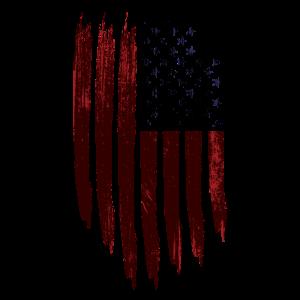 USA Flagge Vintage