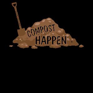 Kompost happens Gartenpflanze Liebhaber Dünger