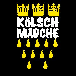 Kölnerin Jecke Kölsch Mädchen