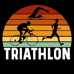 Retro Triathlon Geschenk Triathlon Triathlon triathlete