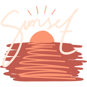 Sunset Summer Holiday Surfer T-Shirt