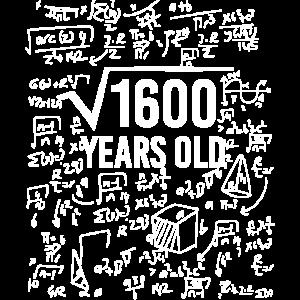 40 Geburtstag Mathe Geschenkidee