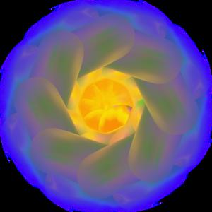 Bunt Kreis mix farbenfroh Kreisel Mischung