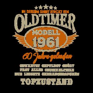 60 Geburtstag Oldtimer 1961 2021 Geschenk