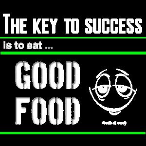 Schlüssel zum Erfolg lustiges Design