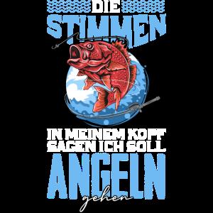 Angler Angeln Stimmen
