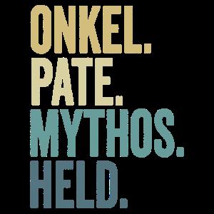 Onkel Pate Mythos Held Taufpate Patenonkel lustig