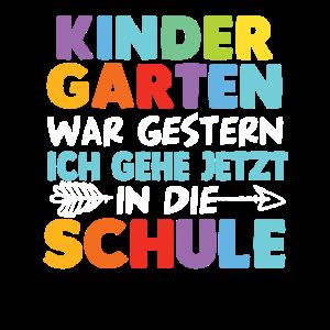 Kindergarten Abschied Schulanfang Schulkind