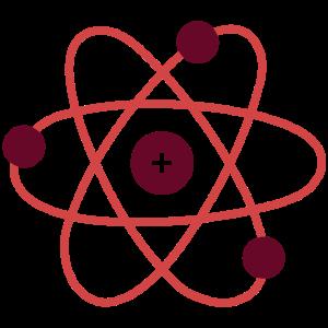Atomkern Physik Geschenkidee Proton