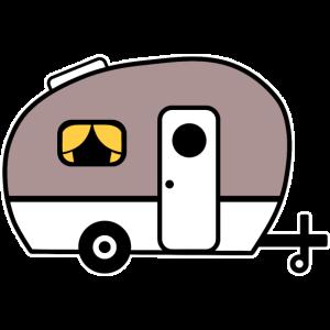Wohnwagen Wohnanhänger Campingwagen Camping Camper