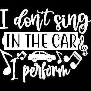 Singen Lustig Sänger kann nicht singen