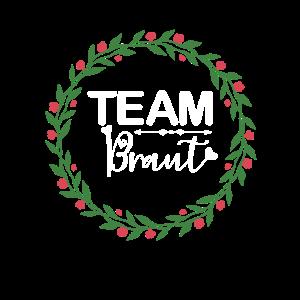 Team Braut Blumen Bride Feiern