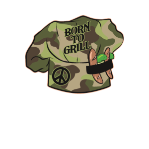 Kochmütze Born to Grill
