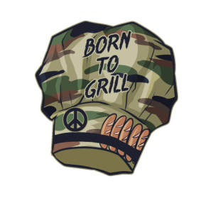 Born to Grill Kochmütze