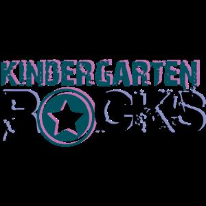 Kindergarten Rocks Schriftzug