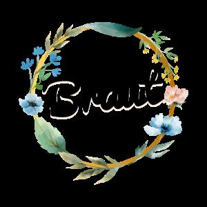 florales Blumen Design für Junggesellinnenabschied